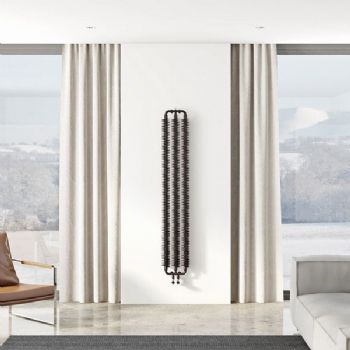 Ribbon Vertical Slimline  Radiator 1720mm
